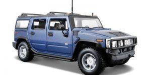 Hummer H2 SUV (Blauw) 1:24 Maisto