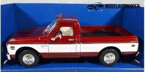Chevrolet Cheyenne 1972 (Rood) 1/32 Welly