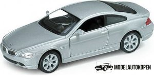 BMW 645Ci (Zilver) 1:32 Welly