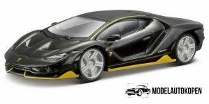 Lamborghini Centenario (Zwart) 1:64 Bburago