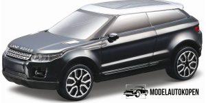 Land Rover LRX 2010 (Zwart) 1:43 Bburago