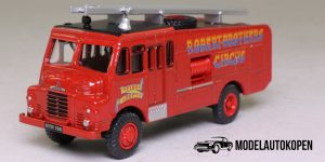Green Goddess Brandweer, Robert Brothers Circus 1/76 Atlas