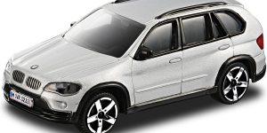 BMW X5 2007 (Zilver) 1:43 Bburago