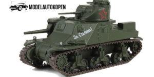 Russisch Leger M3 Tank Die Cast 1/72