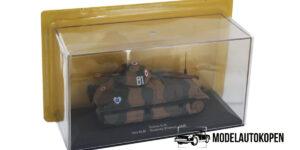Somua S-35 Tank Die Cast Model 1/72