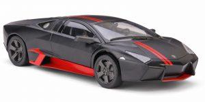 Lamborghini Reventón Zwart/Rood 1/24 Motor Max