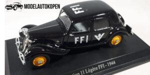 Citroen Traction 11 Legere FFI 1944 - Atlas 1:43