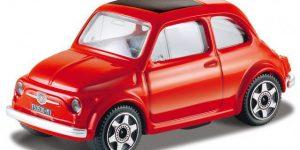 Fiat 500 1965 (Rood) 1:43 Bburago