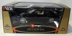 Maserati 3200GT 1998 Donkerblauw 1/18 Bburago