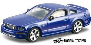 Ford Mustang EvoBoost GT (Blauw) 1:43 Bburago