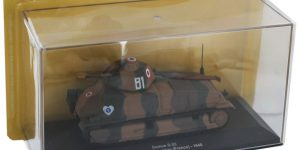 Somua S-35 Tank Die Cast Model 1/72