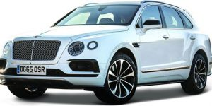 Bentley Bentayga (Wit) 1:43 Bburago