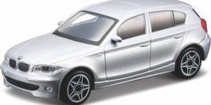 BMW 1 Serie 2009 (Zilver) 1:43 Bburago