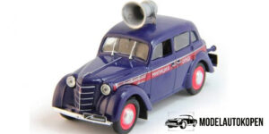 Moskvitch 400-420 Politieauto 1/43 DeAgostini