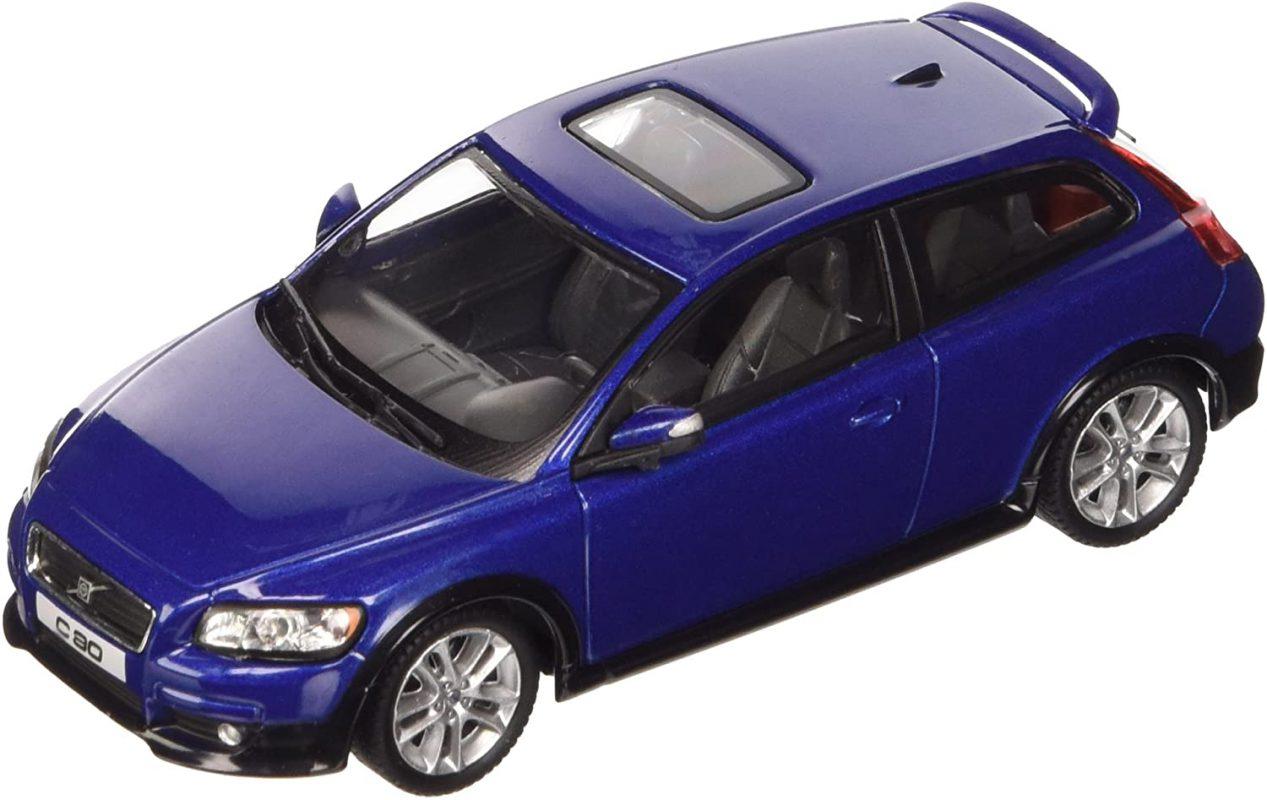 Volvo C30 (Blauw) 1/43 Cararama