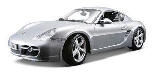 Porsche Cayman S (Zilver) 1/34 Welly