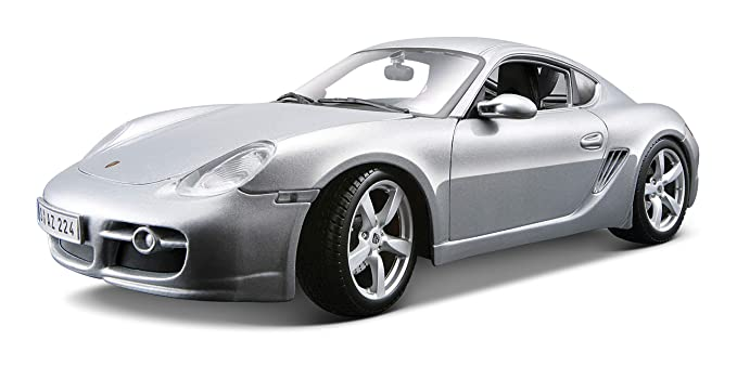 Porsche Cayman S (Zilver) 1/34 Welly