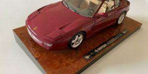 Ferrari 456 GT (1992) Bordeaux Rood 1/18 Bburago