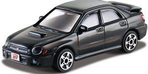 Subaru Impreza (Zwart) 1:43 Bburago