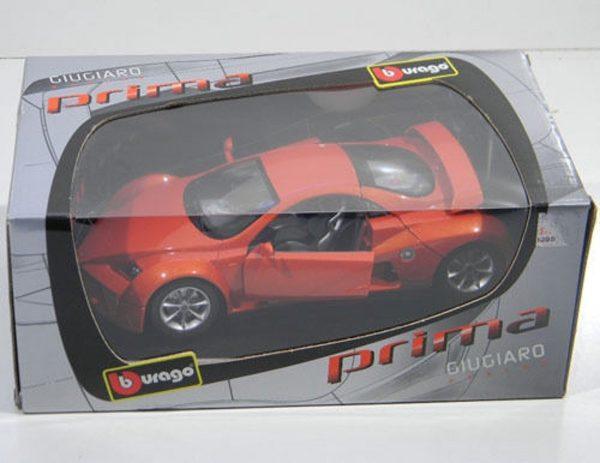 Prima Giugiaro Design 2002 Oranje 1/18 Bburago