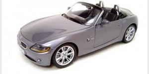 BMW Z4 (Zilver) 1/43 Cararama