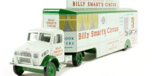Bedford OX Booking Trailer Billy Smart 1:73 Atlas