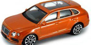 Bentley Bentayga (Oranje) 1:43 Bburago