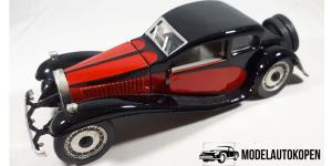 Bugatti T50 Zwart/Rood - Magazijn Opruiming
