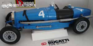 Bugatti Type 59 1934 (Blauw)