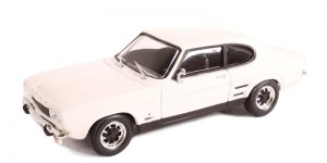 Ford Capri Wit 1/43 Cararama Oxford
