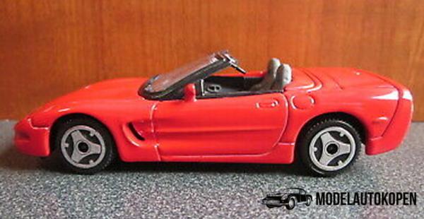 Chevrolet Corvette Convertible 1998 (Rood)