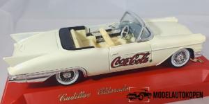 Coca-Cola Cadillac Eldorado Cabriolet 1955 (Creme)