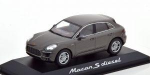 Porsche Macan S Diesel (Donkergrijs) 1/43 Minichamps