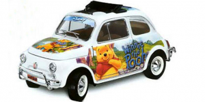Disney Collection - Fiat 500 L - 1/18 Bburago