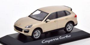 Porsche Cayenne Turbo (Beige) 1/43 Minichamps