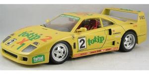 Ferrari F40 ToTip (1987) Geel 1/18 Bburago