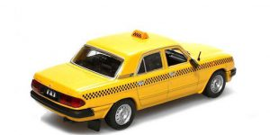 GAZ-3110 Taxi (Geel) 1/43 DeAgostini