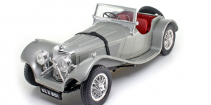 Jaguar SS100 1937 Zilver