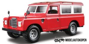 Land Rover Series II (Rood