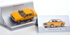 Opel Ascona B (1975-1981) Okergeel 1/43 Schuco