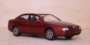 Alfa Romeo 166 Rood 1/43 Majorette