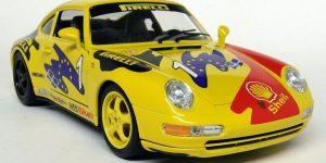 Porsche 911 Carrera GT Geel 1/18 Bburago