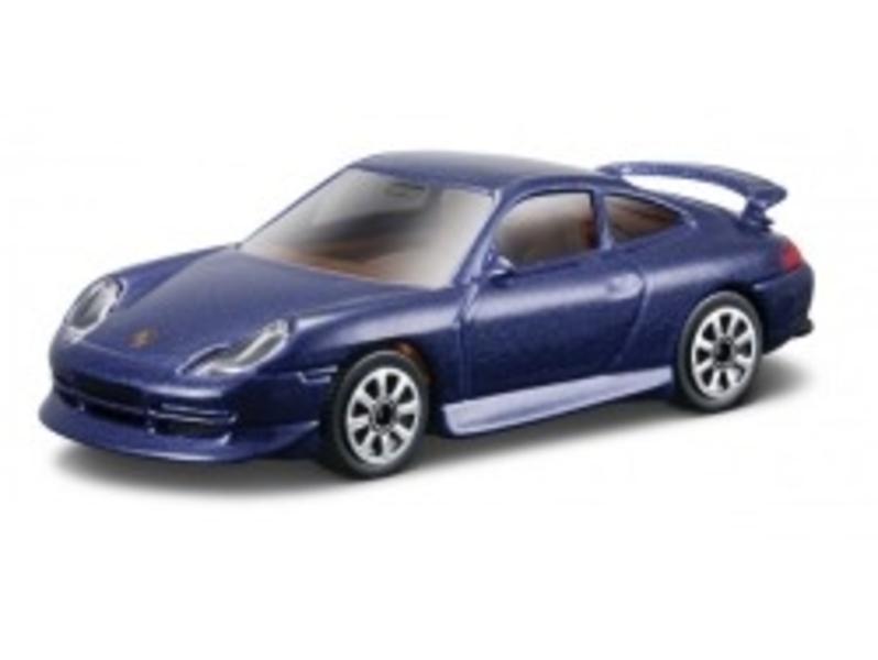 Porsche GT3 2011 (Blauw) 1:43 Bburago