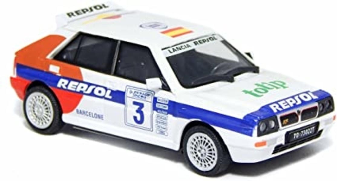 Lancia Delta WRC (Wit) 1/43 Cararama