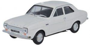Ford Escort MKI Wit 1/43 Cararama Oxford