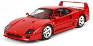 1987 Ferrari F40 Rood 1/43 Bburago