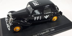 Citroen Traction 11 Legere FFI 1944 - Atlas 1:43