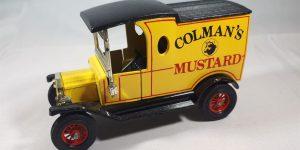 Ford Model T (Colman's Mustard) 1912 - Matchbox 1:43