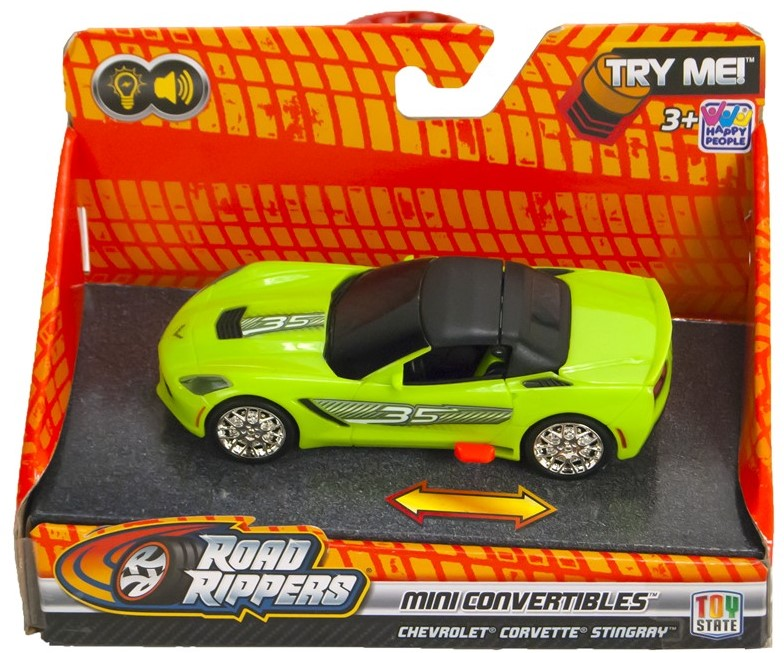 Road Rippers Mini Convertible (Groen) 1:43