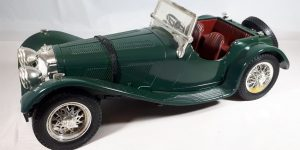 Jaguar SS100 1937 - Bburago 1:18